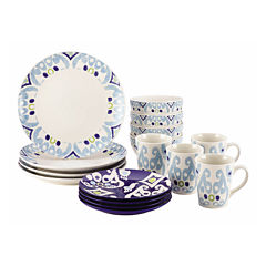 Rachael Ray® Ikat 16-pc. Dinnerware Set