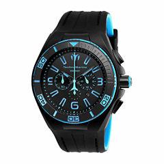 Techno Marine Mens Black Strap Watch-Tm-115058