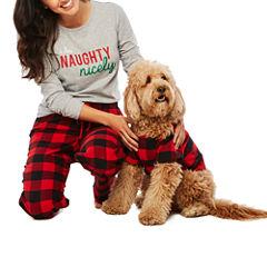 North Pole Trading Co. Checkin' It Twice Family Pajamas-Pet