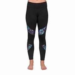 Jockey Printed Mesh Workout Leggings