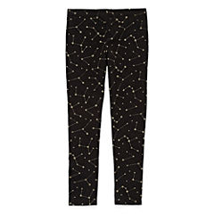 Okie Dokie Pattern Knit Leggings - Toddler Girls