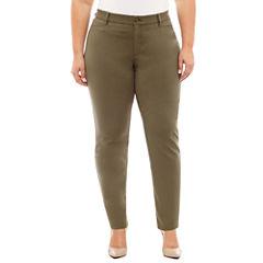 Boutique + Ponte Pants-Plus