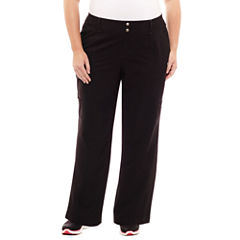 St. John's Bay Active® Woven Workout Pants-Plus (30