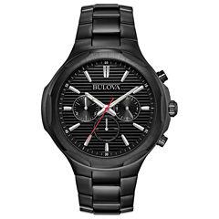 Bulova Mens Black Bracelet Watch-98a189