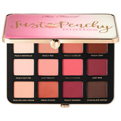 Too Faced Just Peachy Velvet Matte Eye Shadow Palette – Peaches and Cream Collection
