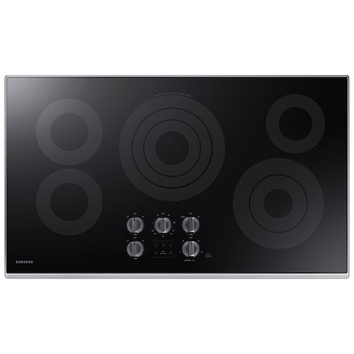 Samsung 36 Ceramic Electric Cooktop with 5 Elements and Rapid Boil™