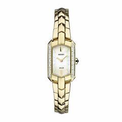 Seiko Ladies Gold Tone Bracelet Watch-Sup330