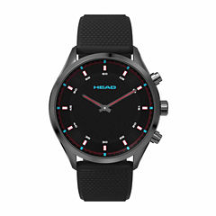 Head Advantage Mens Black Strap Watch-He-002-04