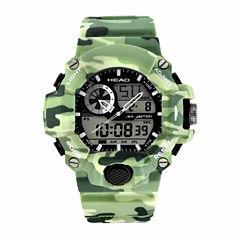 Head Freeride Mens Green Strap Watch-He-105-04