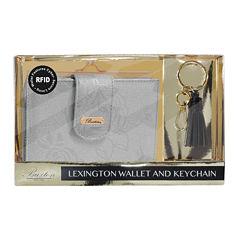 Buxton Lexingtion Rfid Key Fob Wallet Set RFID Blocking Clutch Wallet