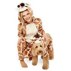 Giraffe One Piece Pet Pajama