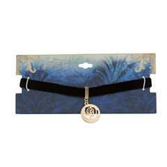 Disney Womens Beauty and the Beast Choker Necklace