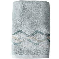 Sketchbook Waves Bath Towel