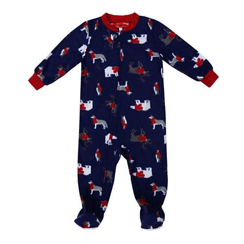 #Famjams Woodland Creatures Family One Piece Pajamas-Baby