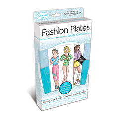 Fashion Plates Sports Collection Expansion Set