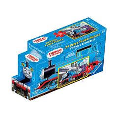 Ravensburger Thomas & Friends - Thomas & Charlie Floor Puzzle in a Shaped Box: 24 Pcs