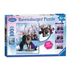 Ravensburger Disney Frozen - The Frozen Difference: 100 Pcs