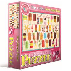 Eurographics Inc Play & Make Ice Cream Pops: 100 Pcs