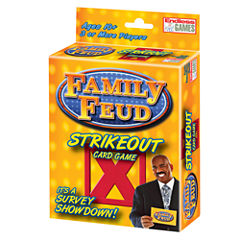 Endless Games Family Feud Strike Out Card Game