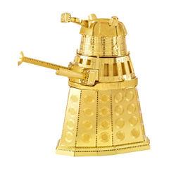 Fascinations Metal Earth 3D Laser Cut Model - Dr.Who Gold Dalek