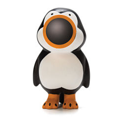 Hog Wild Penguin Popper Key Chain