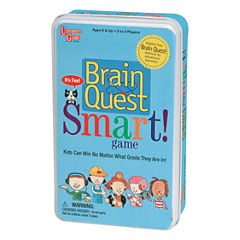 University Games Brain Quest Smart Game in a Tin