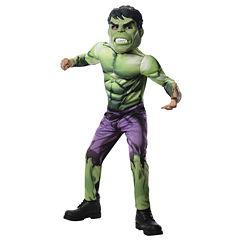 Buyseasons Avengers Assemble Deluxe Hulk Kids Costume