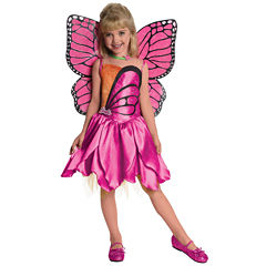Barbie-Deluxe Mariposa Toddler / Child Costume 2-4T