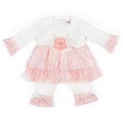 Little Lass 2-pc. Pant Set Baby Girls