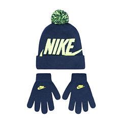 Nike Hat & Glove Set - Boys 8-20