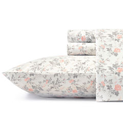 Laura Ashley Rosalie Flannel Sheet Set