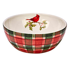 Certified International Winter Field Notes Deep Serving Bowl