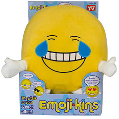 As Seen On TV EmojiKins™ Laughster Interactive Plush Toy