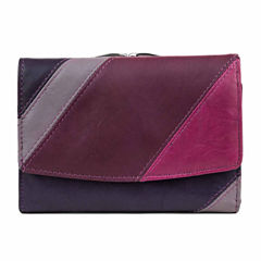 Mundi Tuscana Color Block Flap Indexer Wallet