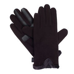 Isotoner Women's smartDRI® Stretch Fleece Gloves with smarTouch® Technology