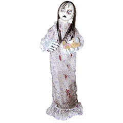 Animated Creepy Hanging Doll