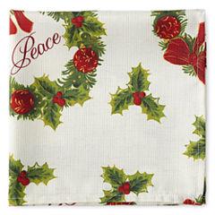 Arlee Holiday Wreath 4-pc. Napkins