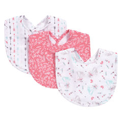 Trend Lab Fox Girls 3-pc. Bib
