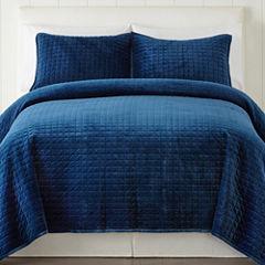 JCPenney Home Pure Velvet Quilt