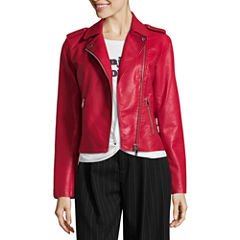 Project Runway Red Moto Jacket