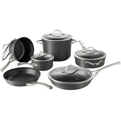 calphalon 11pc nonstick cookware set