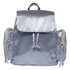 Satin Mini Backpack