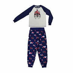 #FAMJAMS Woodland Creatures Family Pajama Set- Boys Big Kid