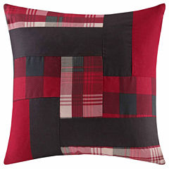 Woolrich Patchwork Square Throw Pillow