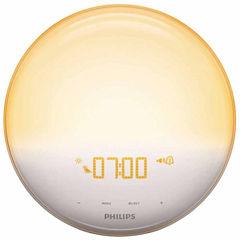 Philips HF3520/60 Wake-Up Light with FM Radio and Sunrise Simulation