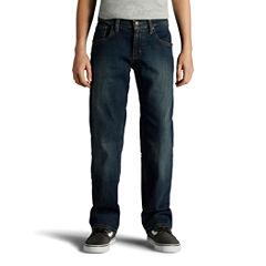 Lee Regular Fit Straight Leg Jeans Boys Husky