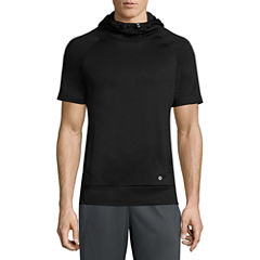 Xersion Short Sleeve Training Fleece Hoodie