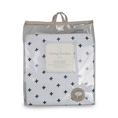 Living Textiles Piper Crib Sheet
