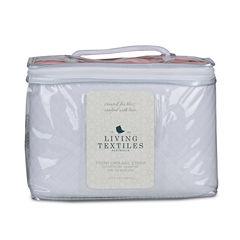 Living Textiles Paper Swans Knit Crib Liner