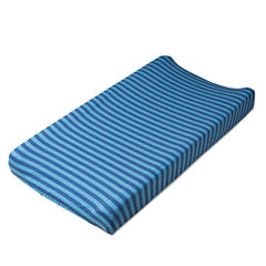 Living Textiles Stripe Changing Pad Cover